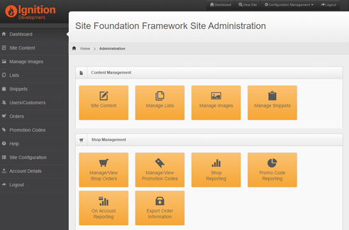 Site Foundation Framework